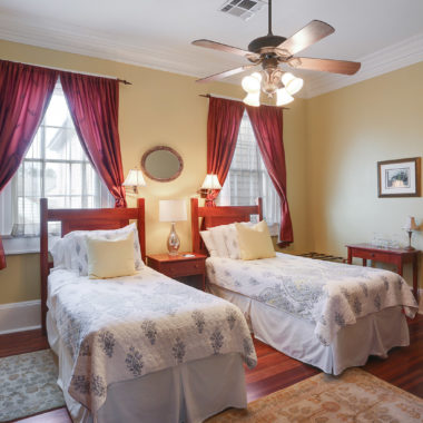 Elysian Fields Twin Room